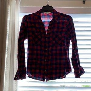 Red/Blue/Black Plaid Shirt